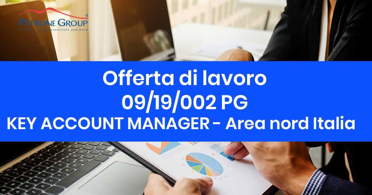 Petrone group ricerca la figura di KEY ACCOUNT MANAGER - Area nord Italia Petrone Group
