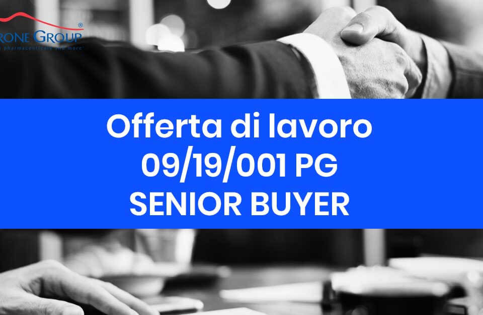 senior buyer offerta di lavoro 09-19-2019 petrone group