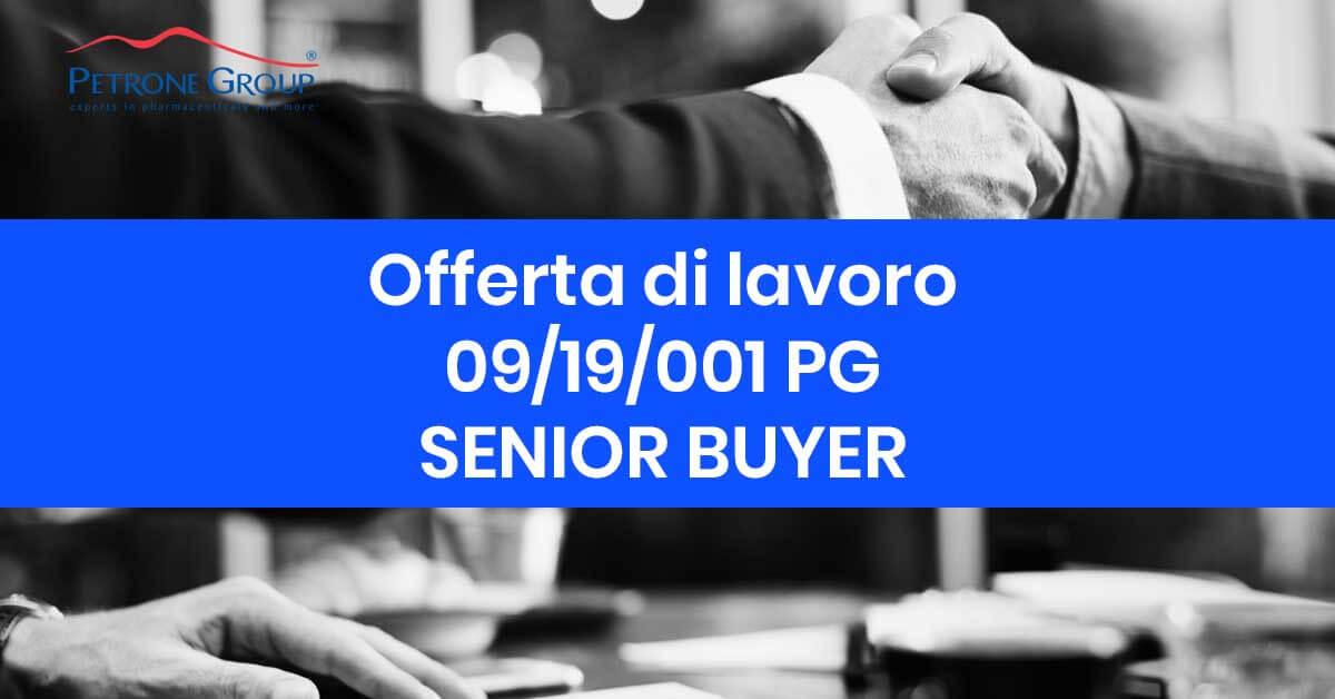 senior buyer offerta di lavoro 09-19-2019 petrone group