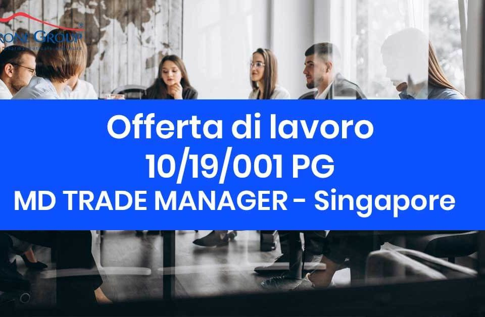 md trade MANAGER Petrone Group Singapore