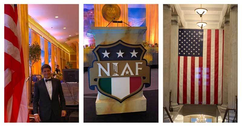 Massimo Petrone NIAF Washington Petrone Group Napoli USA