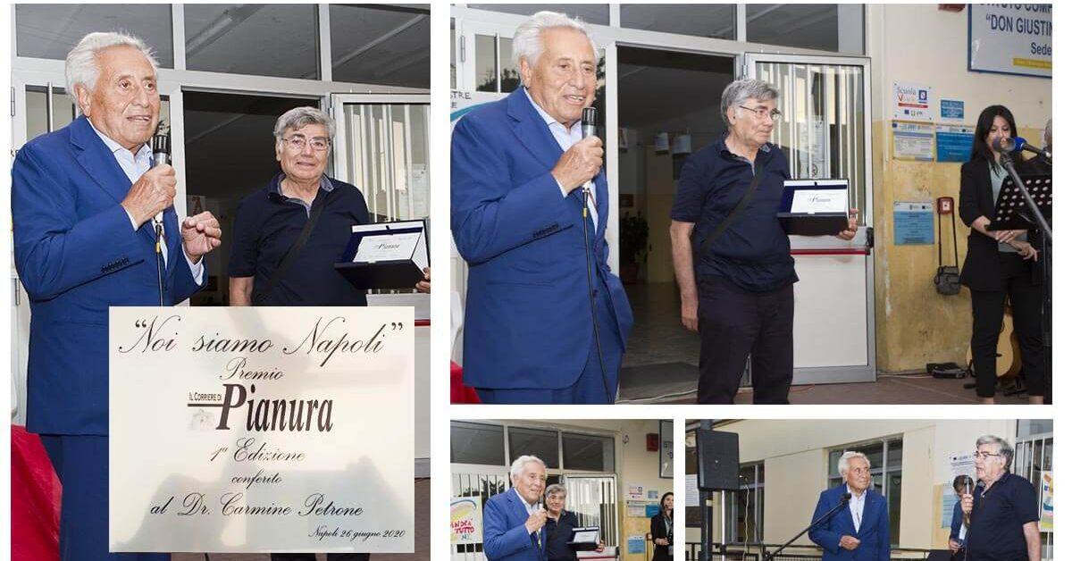 Premio Corriere di Pianura carmine petrone