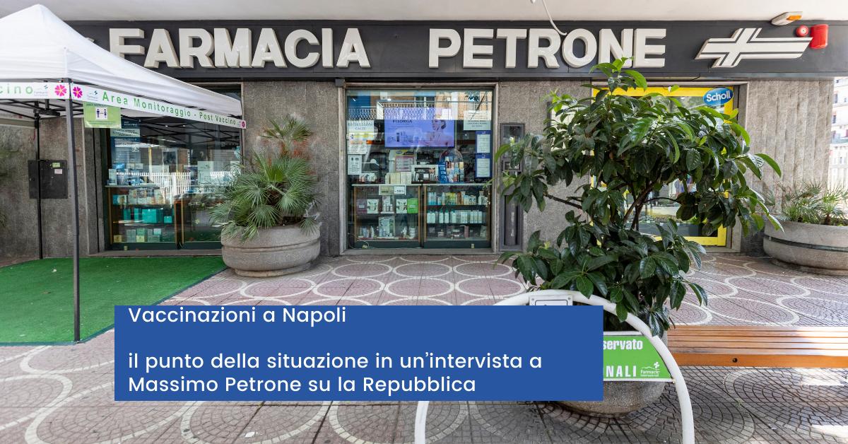 Vaccinazioni a Napoli Il punto della situazione in un'intervista a Massimo Petrone su la Repubblica